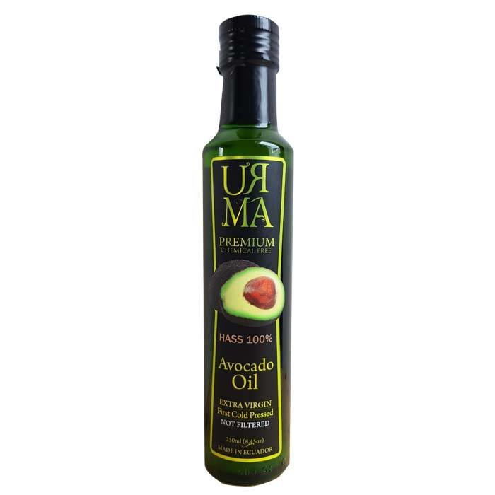 100% Hass avocado olie, extra vierge, Ecuador, 250 ml