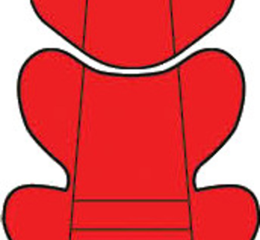 Custo inlay pillow - Uni Red - Group 0/1