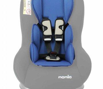 Nania Custo inlay pillow Uni Blue