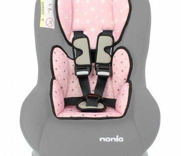 Nania Custo inlay pillow Star Pink