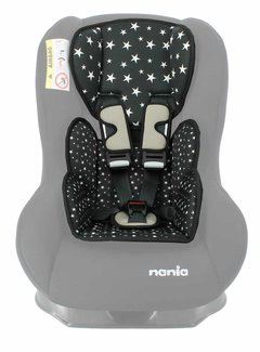 Nania Custo inlay pillow Star Black