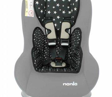 Nania Custo inlay pillow Star Black
