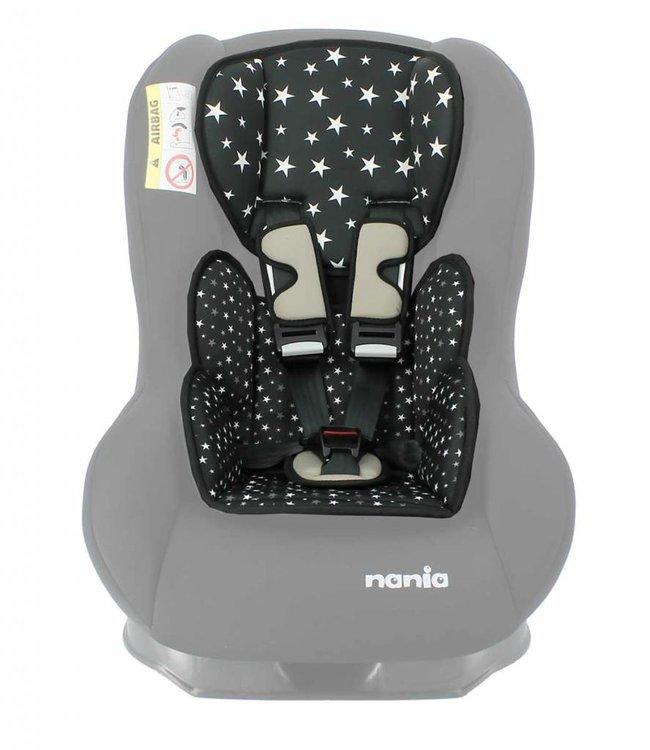 Nania Custo inlay pillow - Star Black