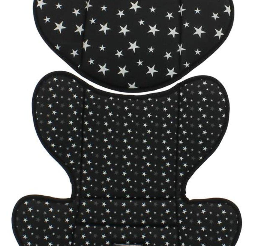 Custo Verkleinkussen - Groep 1/2/3 - Star Black