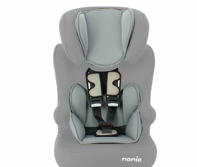 Nania Highback booster Racer ECO Shadow Grey - Group 1/2/3 (9-36 KG)