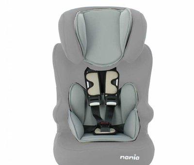 Nania autostoel Racer - Meegroei autostoel groep 1/2/3 - ECO Shadow Grey