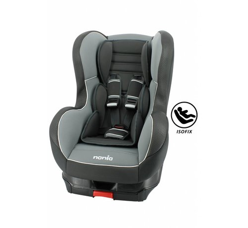 Nania Isofix car seat - Cosmo SP - Group 1 - Black/Grey