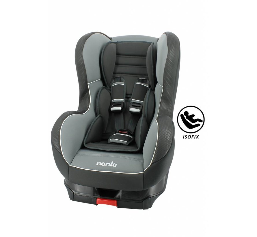 Isofix car seat - Cosmo SP - Group 1 - Black/Grey