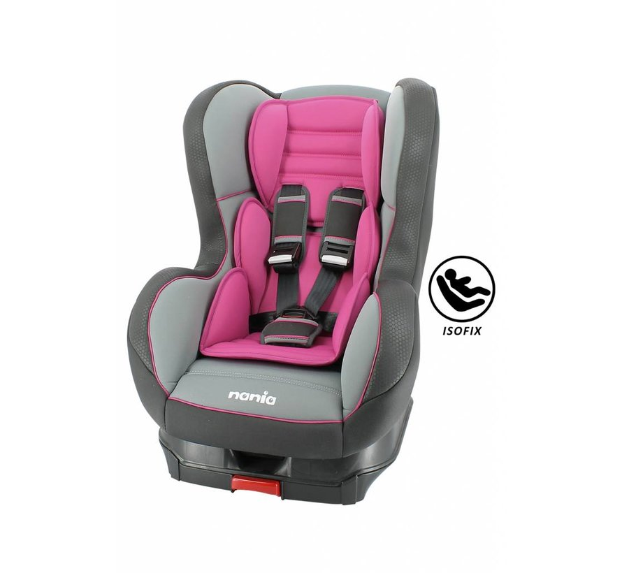 Isofix car seat - Cosmo SP - Group 1 - Pink