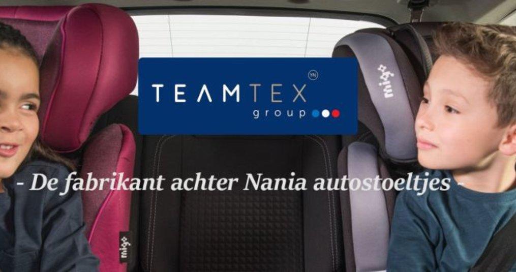 TeamTex Group, fabrikant van Nania autostoeltjes