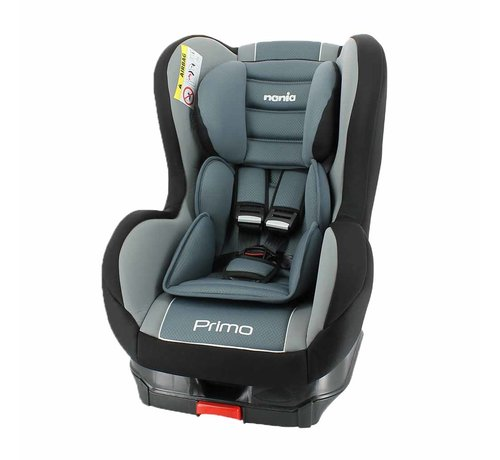 Nania i-Size car seat Primo - 76 to 105 cm - Black/Grey