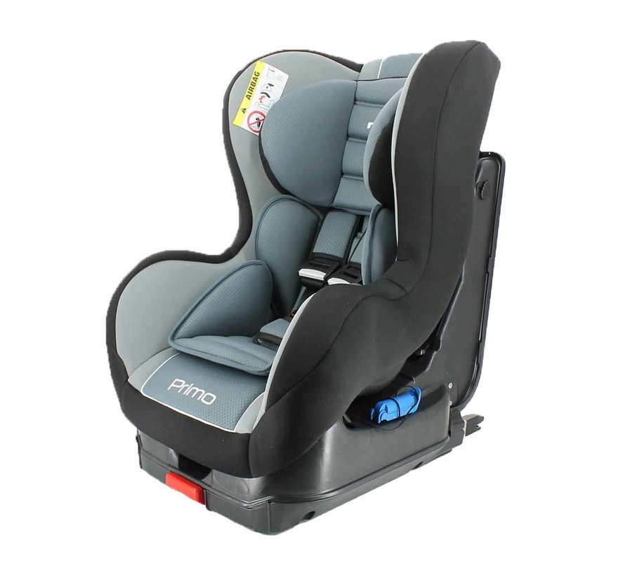 i-Size car seat Primo - 76 to 105 cm - Black/Grey