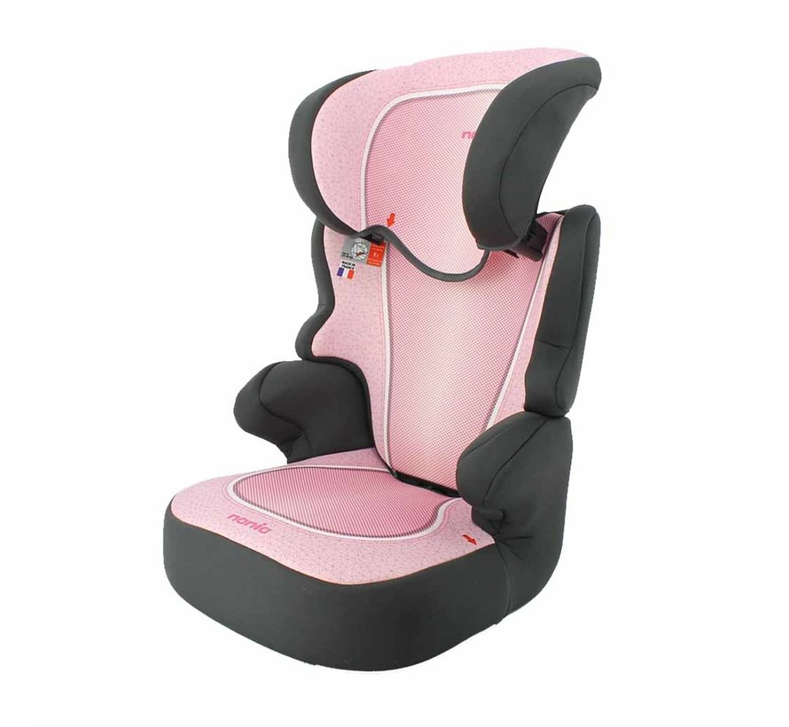 Car seat Befix SP - Group 2 and 3 - 15 to 36 KG - Pink