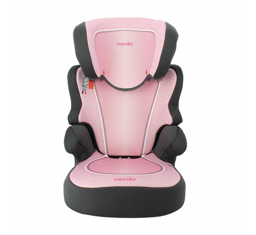 Car seat Befix - Highbackbooster Group 2 and 3 - Skyline Pink