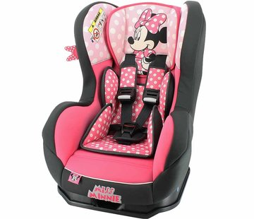 Disney Autostoel Cosmo SP - Groep 0 en 1 - Minnie Mouse