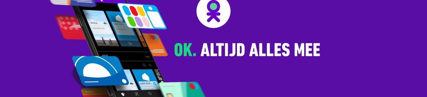 Nieuw, betalen met OK-app