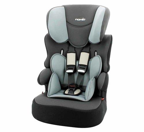Nania autostoel BeLine - Meegroei autostoel groep 1/2/3 - Access Grey
