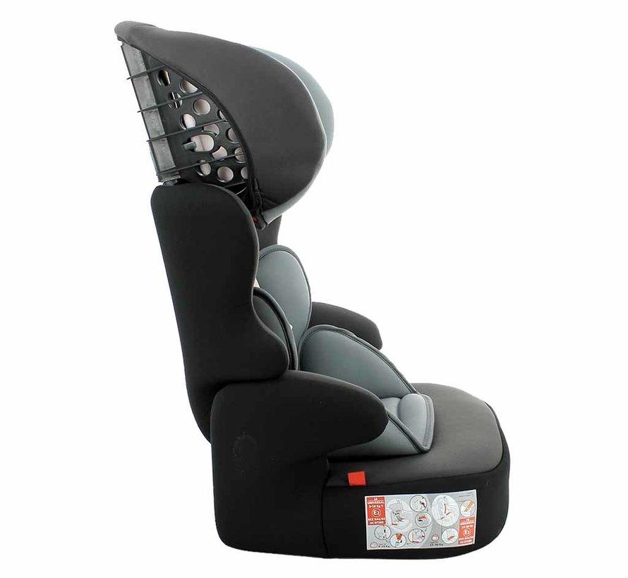 autostoel BeLine - Meegroei autostoel groep 1/2/3 - Access Grey