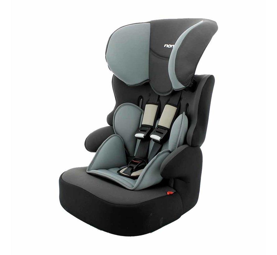 Kinderautositz BeLine Access Grey - Gruppe 1/2/3 (9-36 KG)