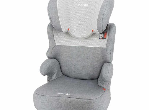 Nania Car seat Befix Zig Zag Light Grey