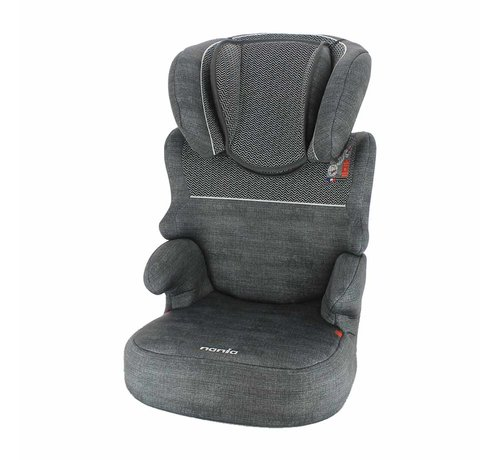 Nania Car seat Befix - Highbackbooster Group 2 and 3 - Zig Zag Dark Grey