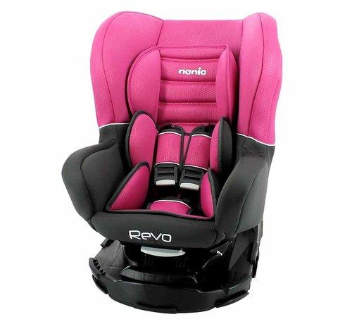 Nania Revo SP - Rotating car seat group 0-1-2 - Pink
