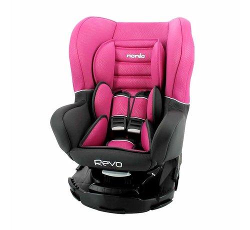 Nania Revo 360° - Draaibare autostoel Groep 0-1-2 - Pink