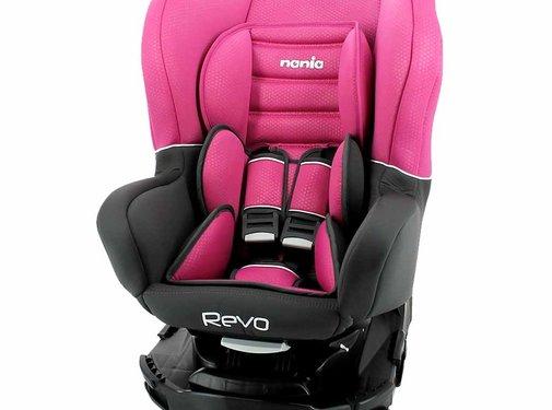 Nania Draaibare Autostoel Revo SP Luxe Pink
