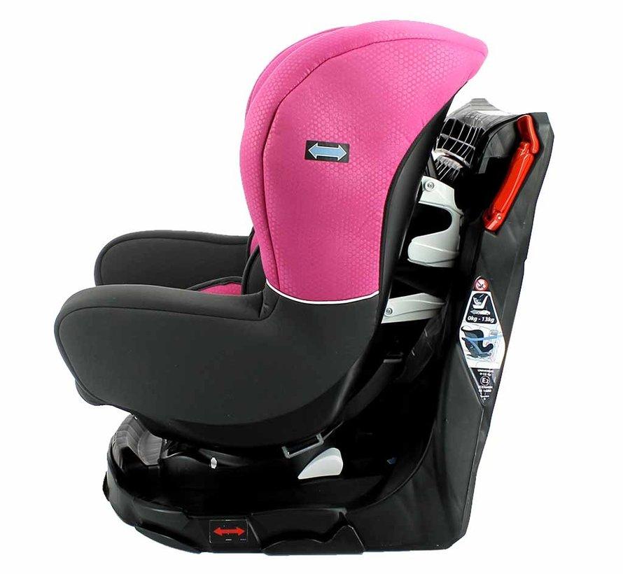 Revo 360° - Draaibare autostoel Groep 0-1-2 - Pink