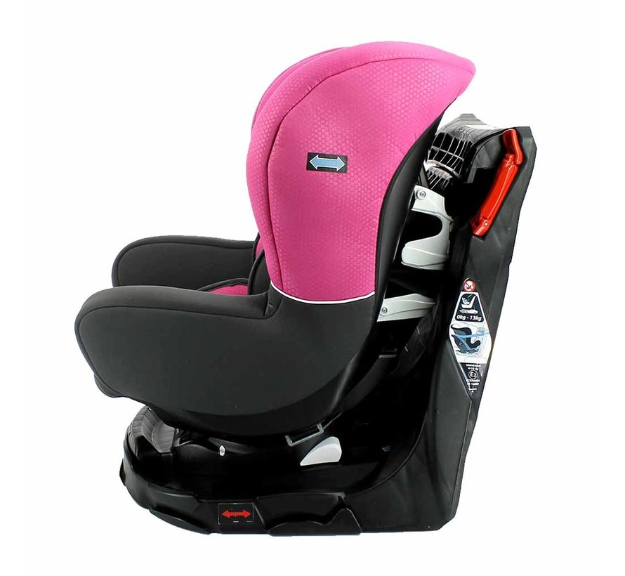drehbarer Autositz Nania Revo  Gruppe 0-1-2 Pink