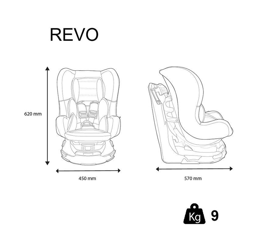 Revo SP - Draaibare autostoel Groep 0-1-2 - Pink