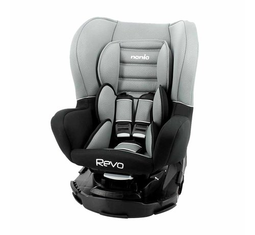 Nania Revo 360° - Draaibare autostoel Groep 0-1-2 - Luxe Grey
