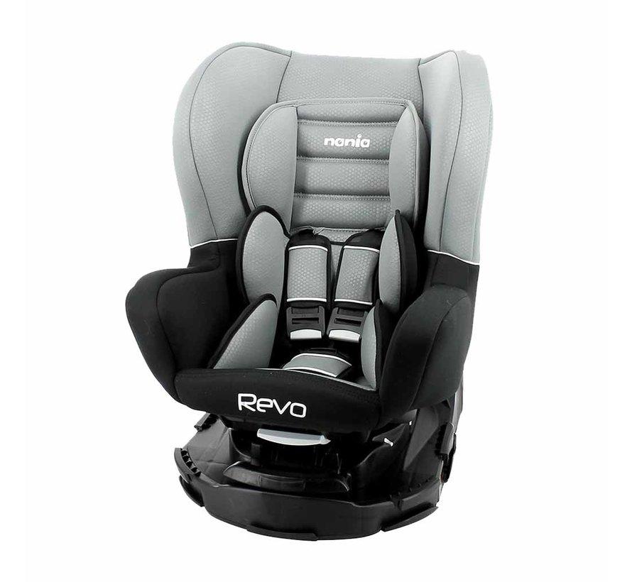 Revo 360° - Draaibare autostoel Groep 0-1-2 - Luxe Grey