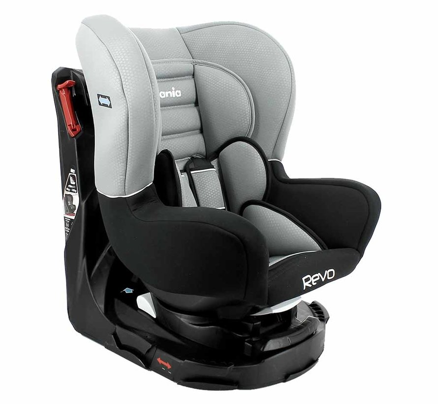 Revo SP - Rotating car seat group 0-1-2 - Luxe Grey