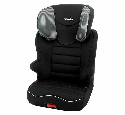 Nania Starter Easyfix - Isofix autostoel groep 2 en 3 - Tech Grey