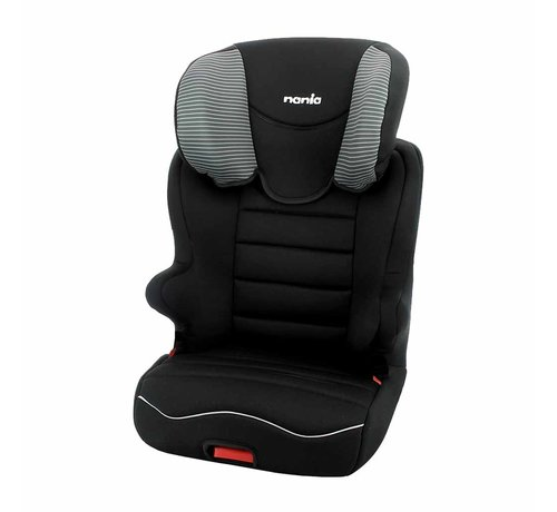 Nania Starter Easyfix - Isofix Autositze Gruppe 2 und 3 - Tech Grey