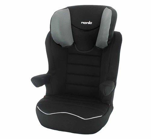 Nania R-Way Easyfix - Isofix autostoel groep 2 en 3 - Tech Grey