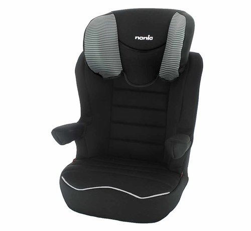 Nania R-Way Easyfix - Isofix car seat group 2 and 3 - Tech Grey