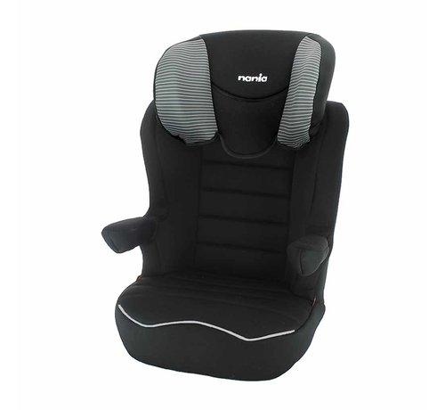 Nania R-Way Easyfix – Isofix autostoel groep 2 en 3 – Tech Grey