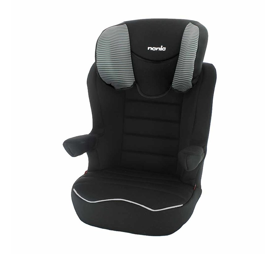 R-Way Easyfix - Isofix car seat group 2 and 3 - Tech Grey
