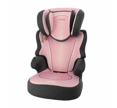 Nania Car seat Befix - Highbackbooster Group 2 and 3 - Skyline Pink
