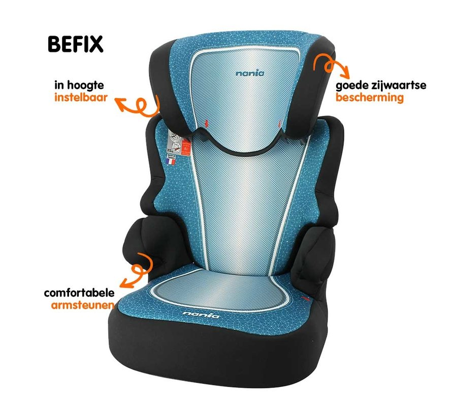 Car seat Befix - Highbackbooster Group 2 and 3 - Skyline Blue