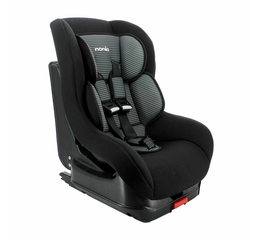 Kinderautositz Nania Maxim Isofix Tech Grey - Gruppe 1 (9-18 KG)