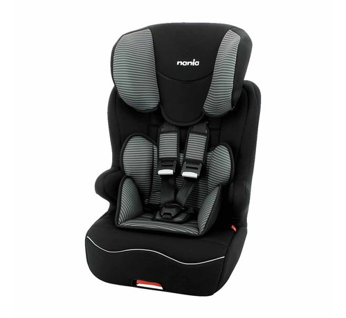 Nania ISOFIX Highback booster Racer Tech Grey - Group 1/2/3 (9-36 KG)
