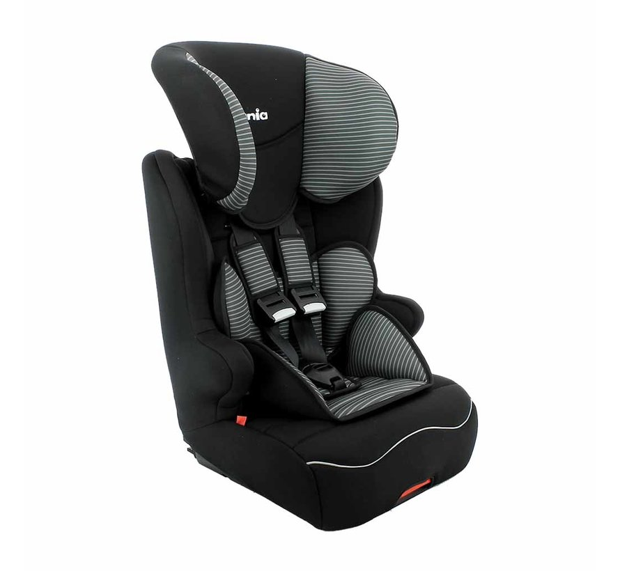 ISOFIX Highback booster Racer Tech Grey - Group 1/2/3 (9-36 KG)