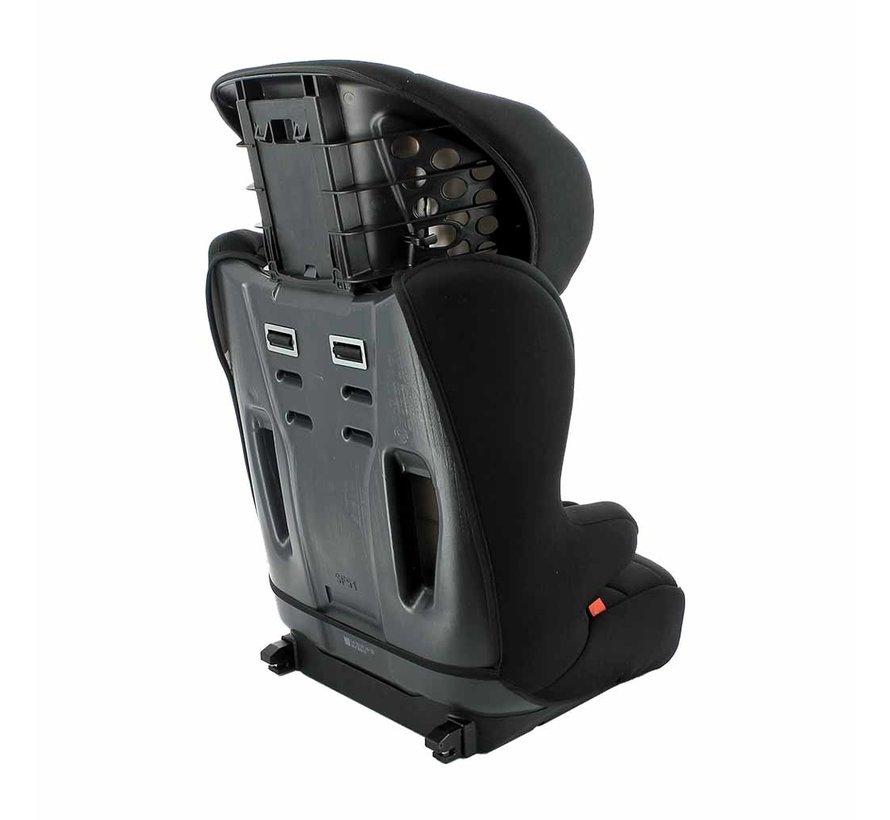 Racer ISOFIX Tech Grey - Meegroei autostoel Groep 1 2 3 - Van 9 tot 36 kg