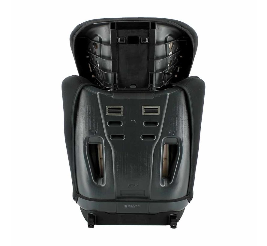 ISOFIX Kinderautositz Racer Tech Grey - Gruppe 1/2/3 (9-36 KG)