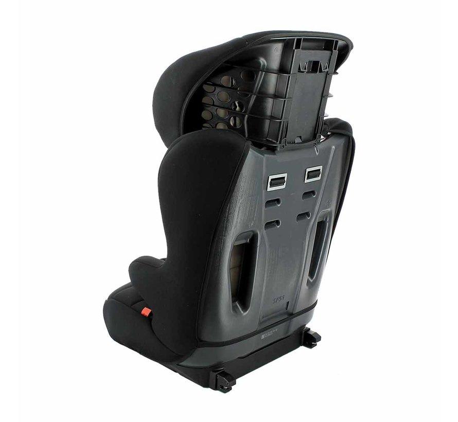 Racer ISOFIX - Meegroei autostoel groep 1/2/3 - Tech Grey