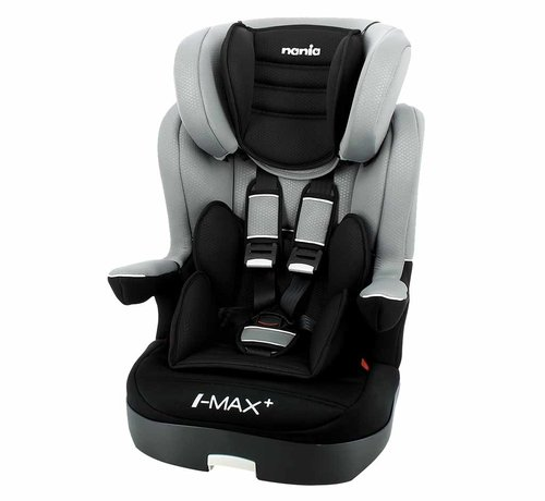 Nania Highback booster i-Max Luxe Grey - Group 1/2/3 (9-36 KG)
