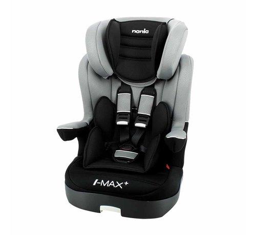 Nania autostoel i-Max - Meegroei Autostoel Groep 1/2/3 - Luxe Grey